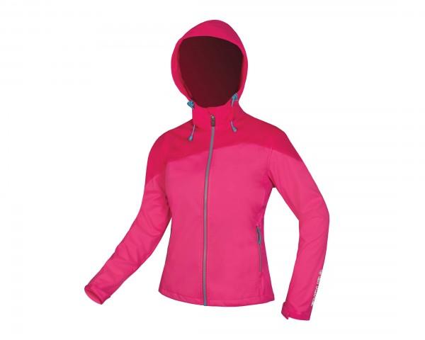 Endura Womens SingleTrack Softshell Jacket   raspberry