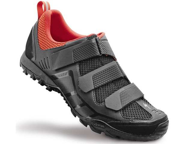 Specialized Rime Elite MTB Shoes   Carbon-Deep Orange