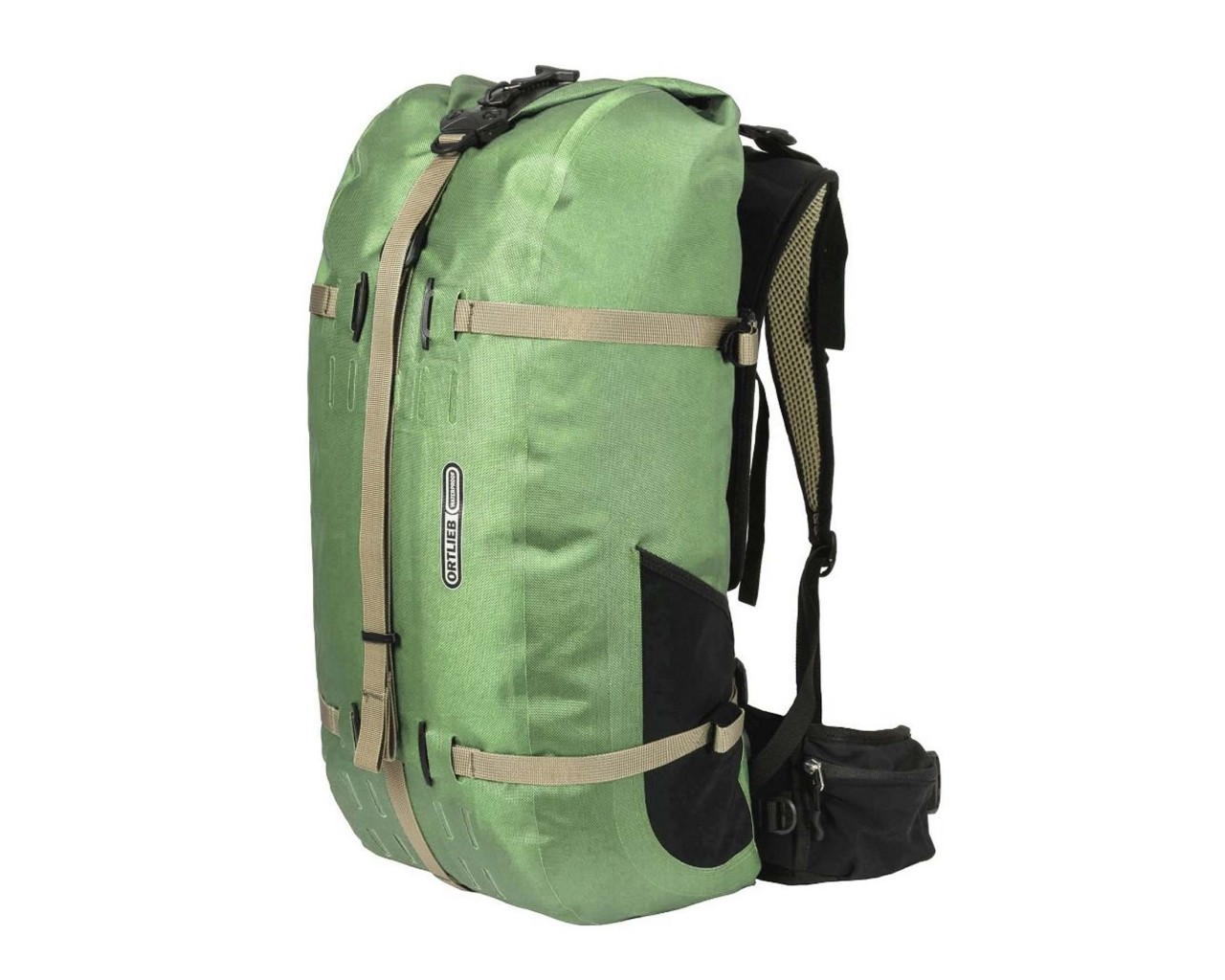 Ortlieb Atrack ST 34 litres waterproof Women backpack PVC free | pistacchio