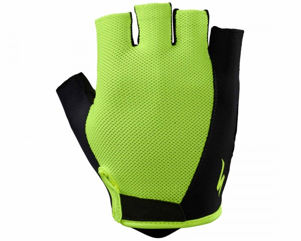 Specialized BG Sport short fingers Gloves | neon yellow