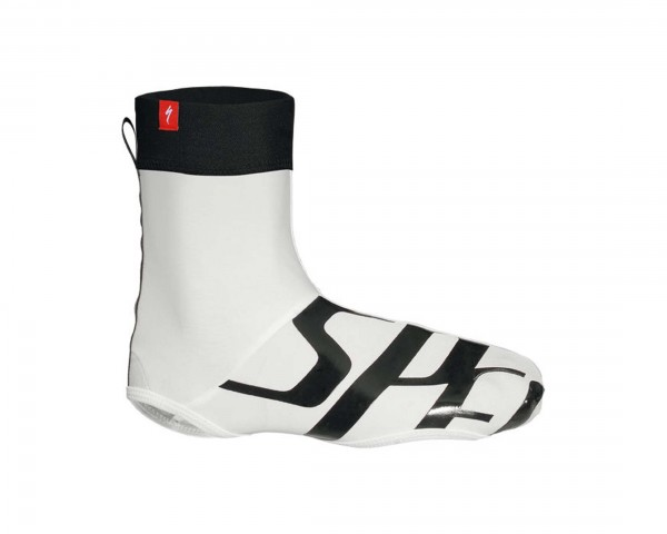 Specialized Wordmark shoe cover | white-black
