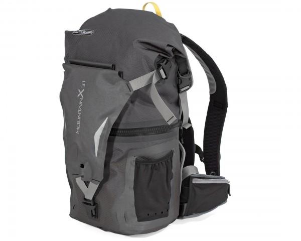 Ortlieb MountainX waterproof backpack 31 liter | slate