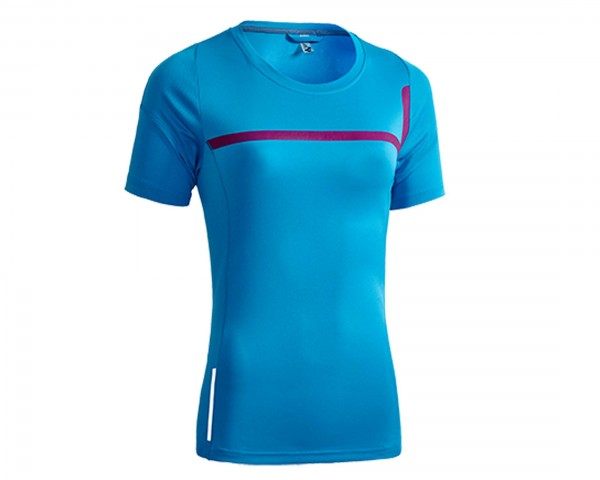 Cube Motion WLS Womans Jersey short sleeve | blue