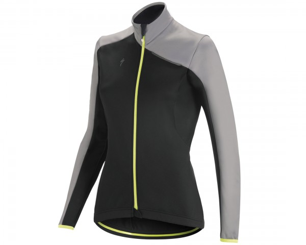 Specialized Element RBX Sport Womens Jacket   black-light grey-yellow