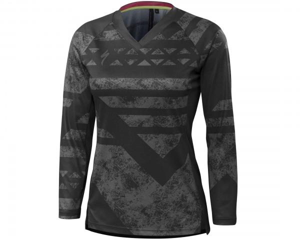 Specialized Womens Andorra jersey long sleeve   phantom