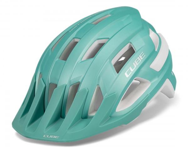 Cube ROOK MTB Helmet | silver mint