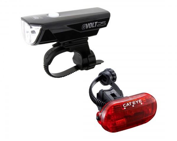 Cateye headlight GVolt 25 + Omni 3G
