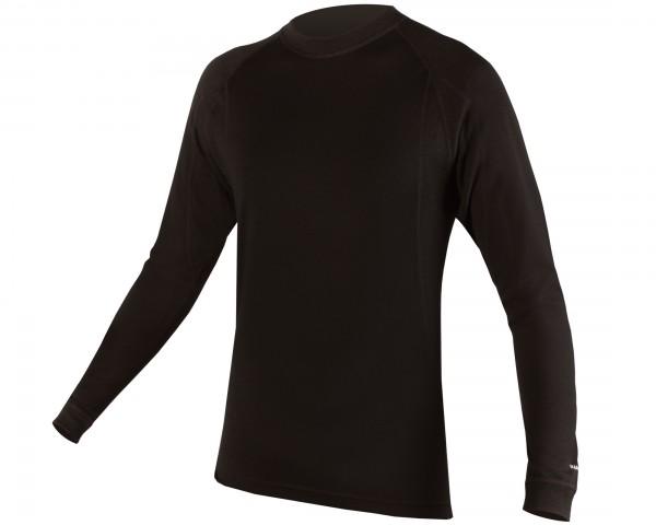Endura BaaBaa Merino long sleeve Baselayer | black
