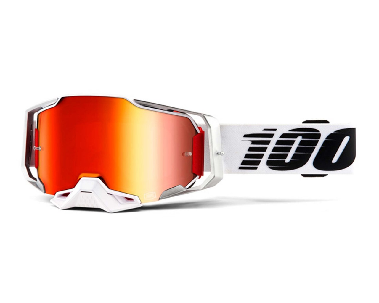 100% Armega Goggle - Anti fog mirror lens | Lightsaber