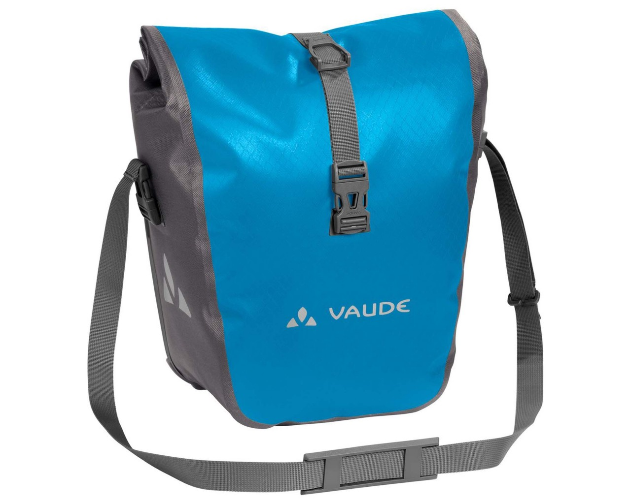 Vaude Aqua Front - wasserdichte Fahrradtaschen PVC-frei (Paar) | icicle