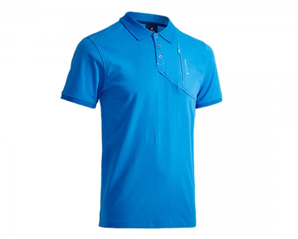 Cube Polo Shirt Classic After Race | blau