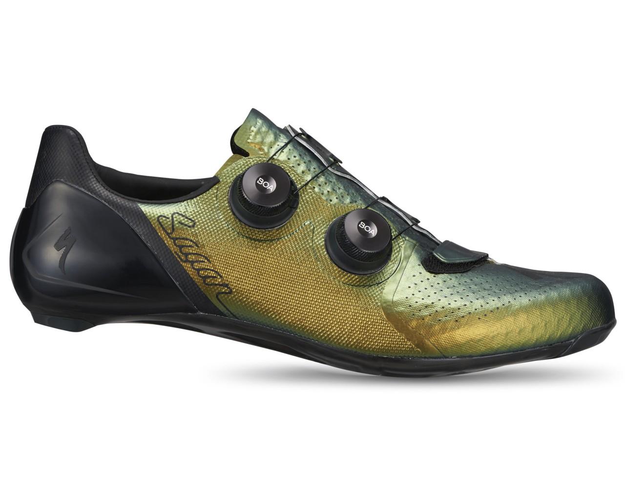 Specialized S-Works 7 Rennrad Schuhe Sagan Deconstructivism LTD   green