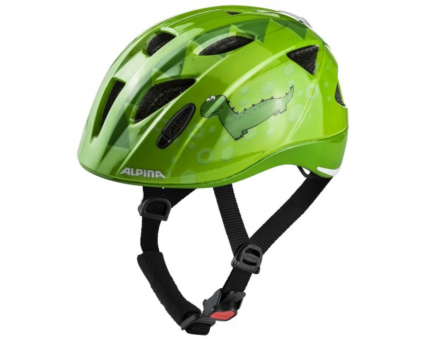 Alpina Ximo Flash Kids Bike Helmet | green dino