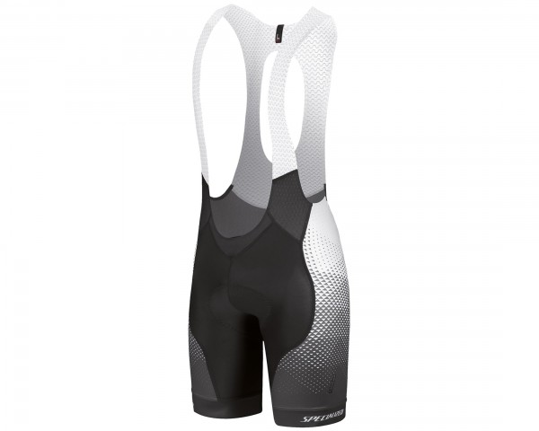 Specialized Team Matrix SL Pro BIB shorts | black stone-acid red