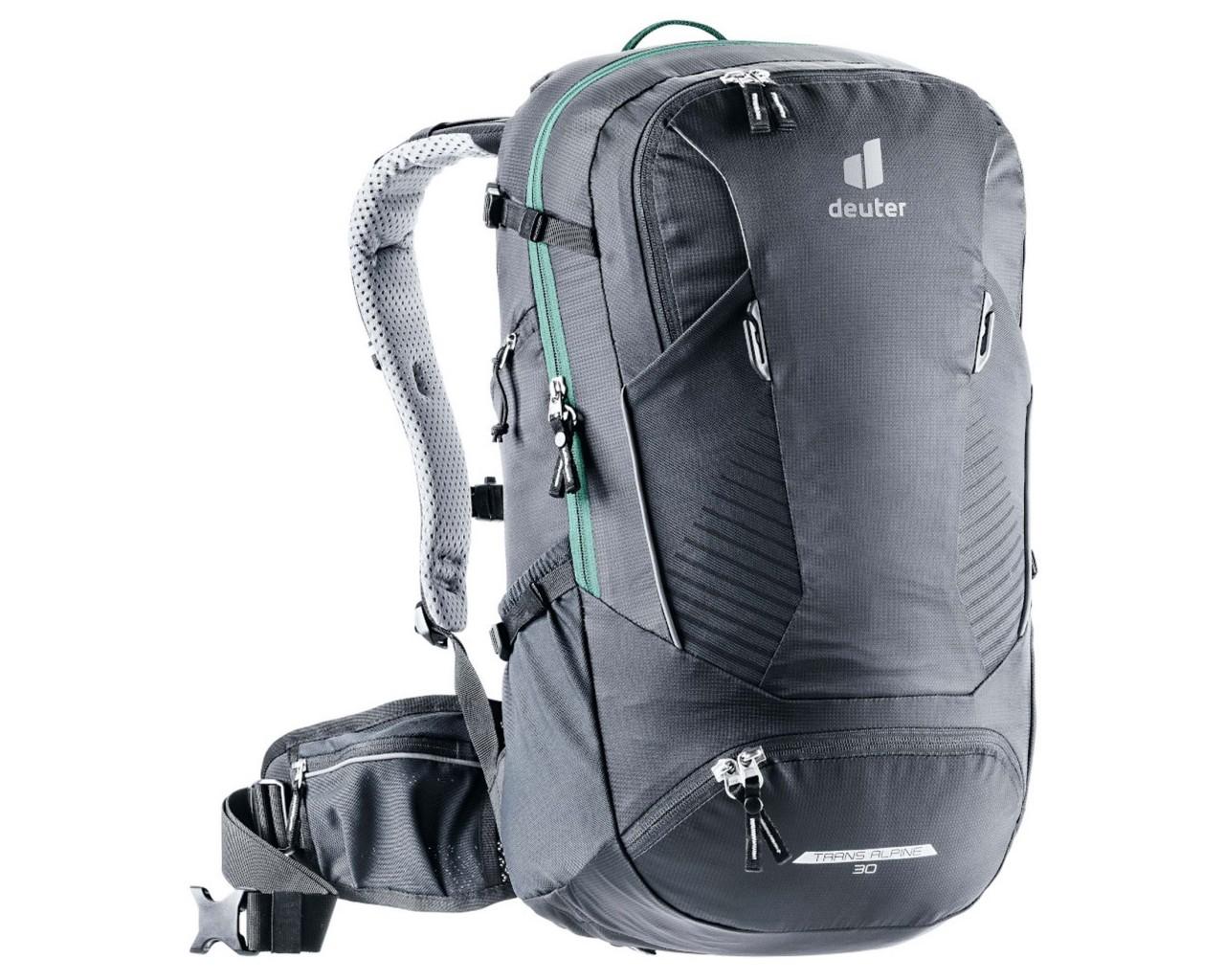 Deuter Trans Alpine 32 EL - Bike Backpack extra long | black