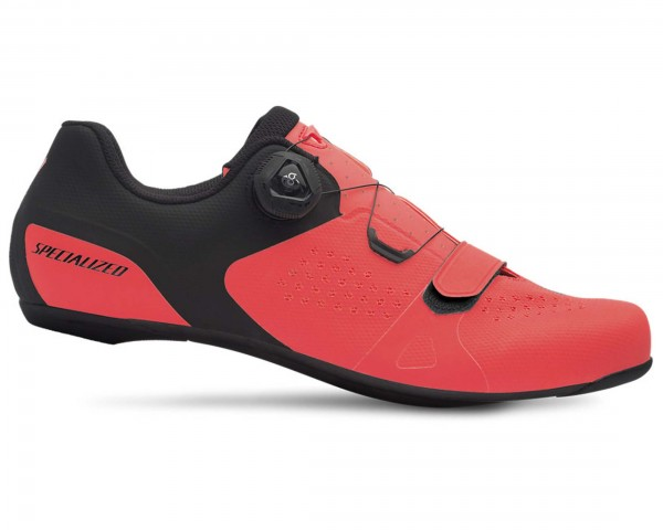 Specialized Torch 2.0 road shoes | acid lava-black