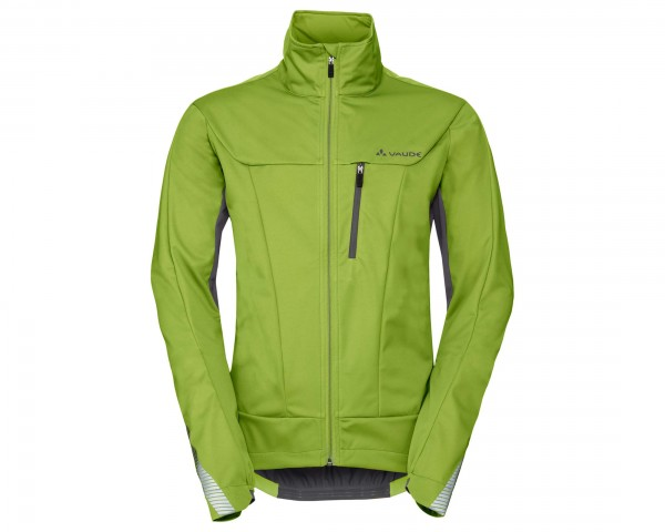 Vaude Steglio Softshell Fahrrad Jacke | chute green