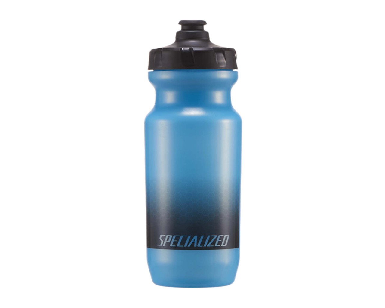 Specialized Little Big Mouth 2nd Gen. Trinkflasche 21oz | hex fade prismatic blue black