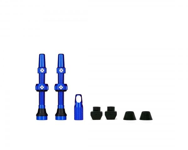 Muc-Off Tubeless Valve Kit Universal for MTB & Road | blue