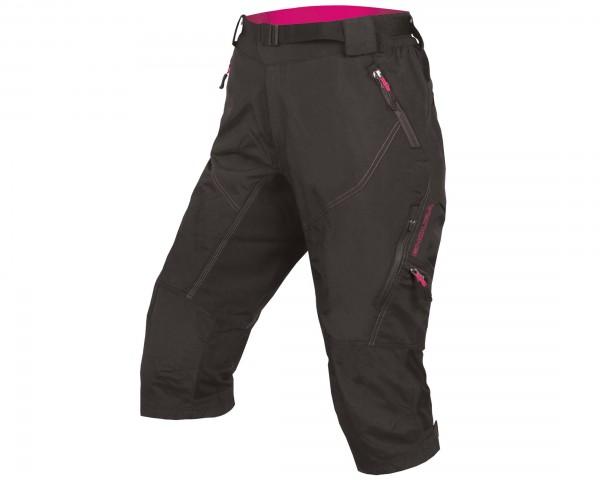 Endura Women Hummvee II 3/4-trousers | black