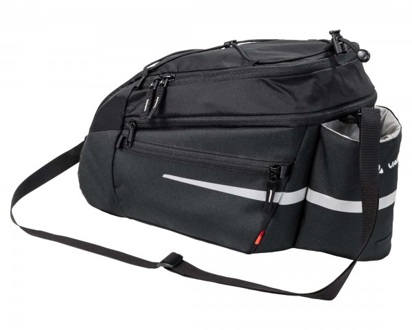 Vaude Silkroad Plus (UniKlip) 9+2 Liter Fahrrad Gepäckträgertasche | black
