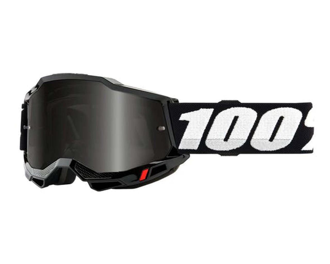 100% Accuri Generation 2 goggle - anti fog mirror lens | black