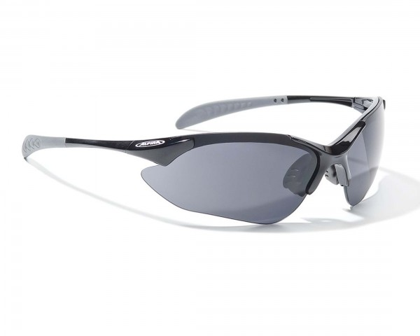 Alpina Tri-Quatox Sports goggles / set | black-black