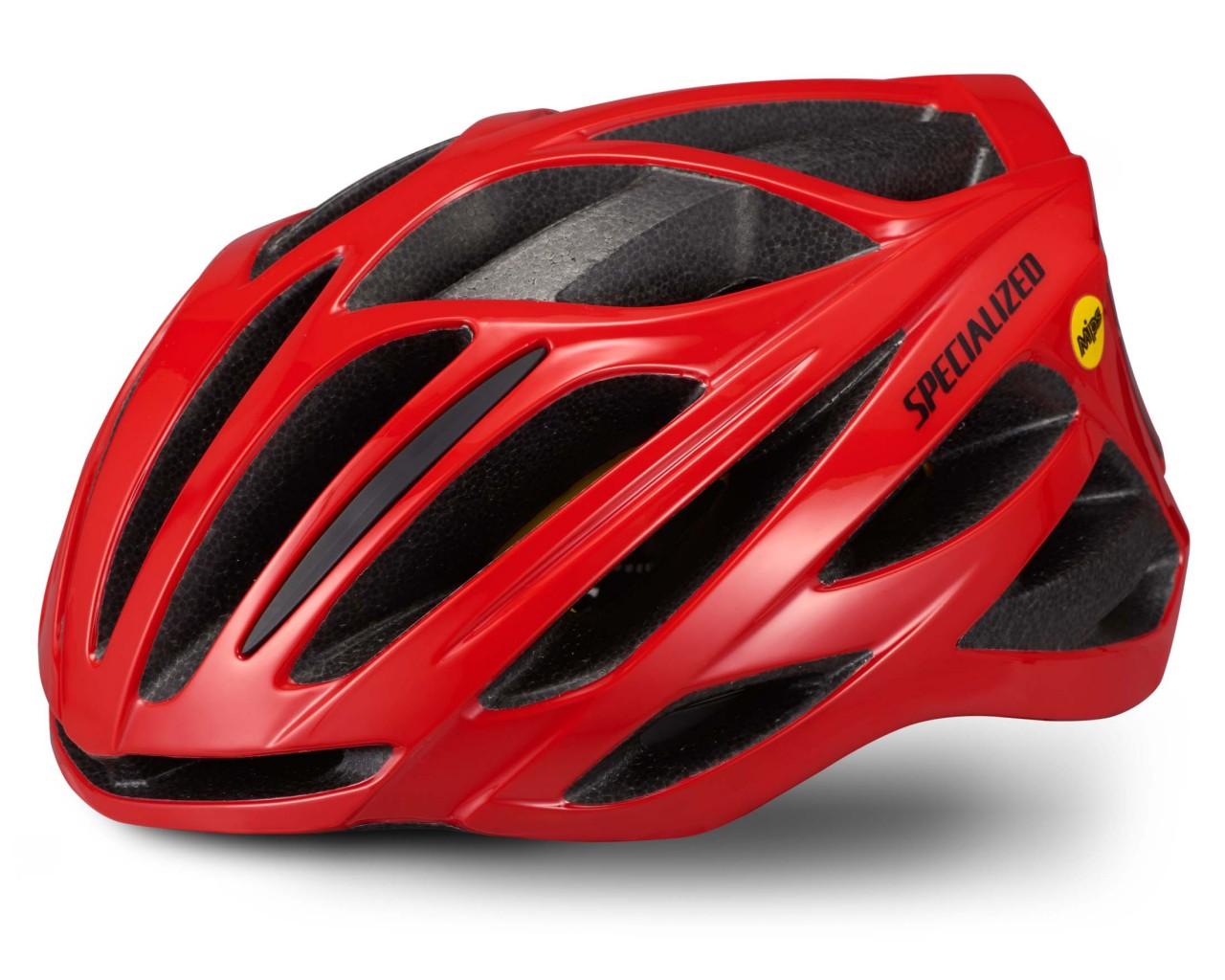 Specialized Echelon II Helmet MIPS (ANGI compatible)   flo red-black reflective
