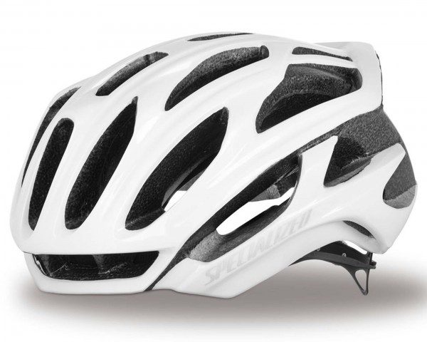 Specialized S-Works Prevail Rennrad Fahrradhelm | gloss white clean