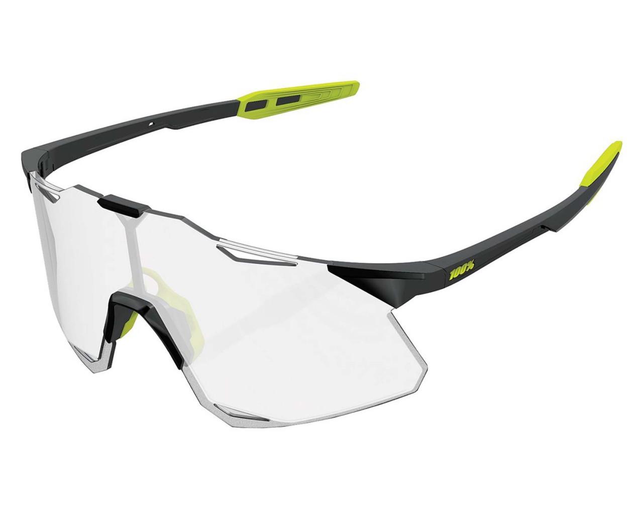 100% Hypercraft - Photochromic Lens Sportsonnenbrille | gloss black