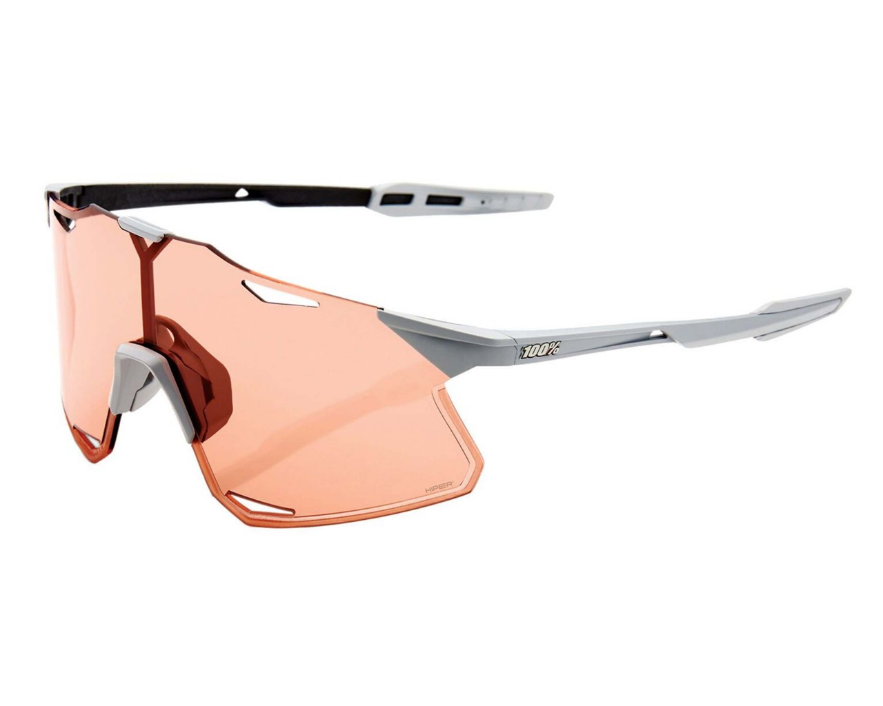 100% Hypercraft - Hiper Lens Sports sunglasses | matt stone grey