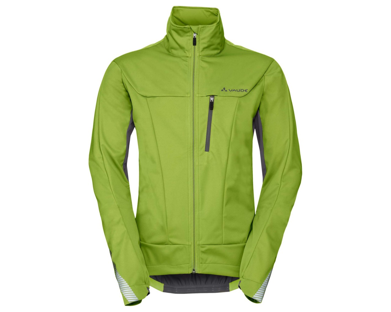 Vaude Steglio Softshell Fahrrad Jacke   chute green