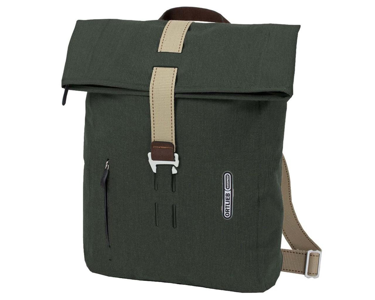 Ortlieb Urban Daypack Urban Line 20 litre waterproof backpack PVC-free | pine