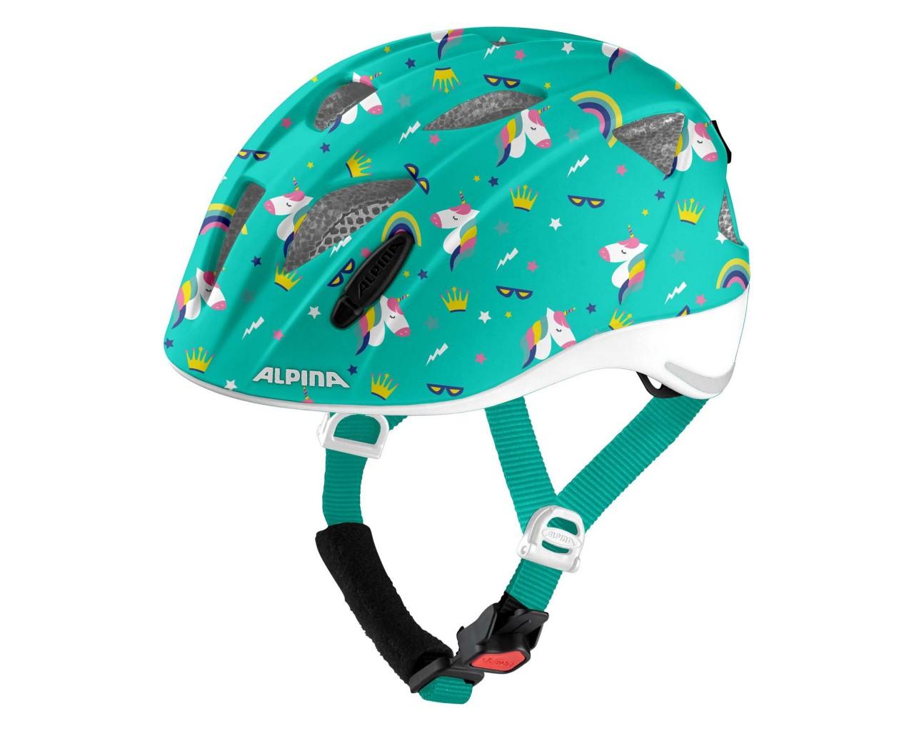 Alpina Ximo Flash Kinder Fahrradhelm | unicorn gloss