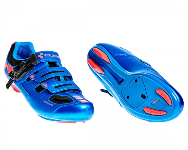 Cube Shoes ROAD PRO | blue n flashred