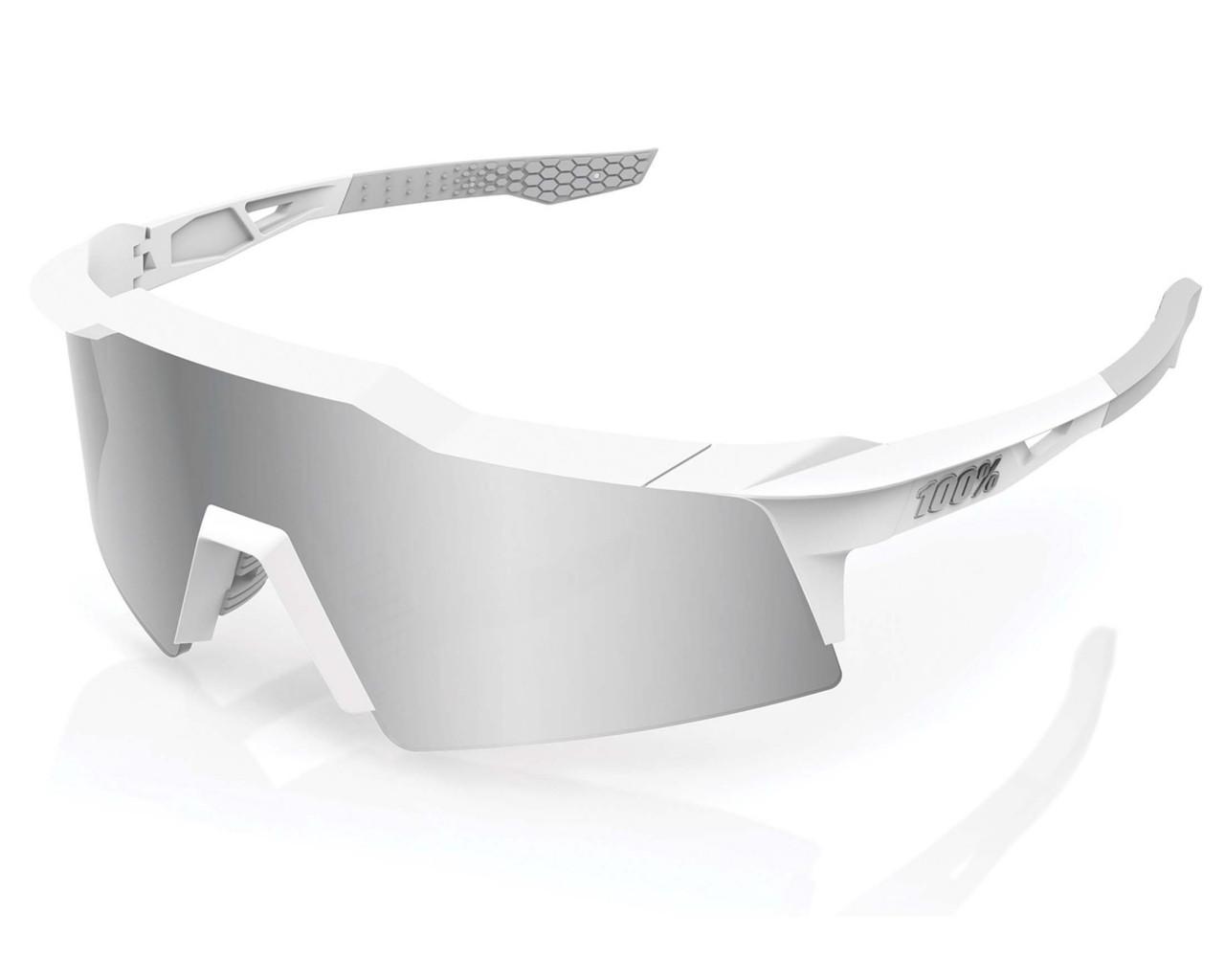 100% Speedcraft XS HiPER Multilayer Sports Sunglasses | matt white Hiper
