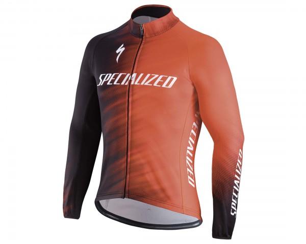 Specialized Therminal SL Team Expert Jersey | rocket red-black faze