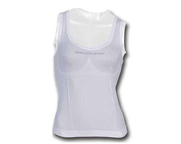 Specialized Sleeveless Womens Undershirt | white