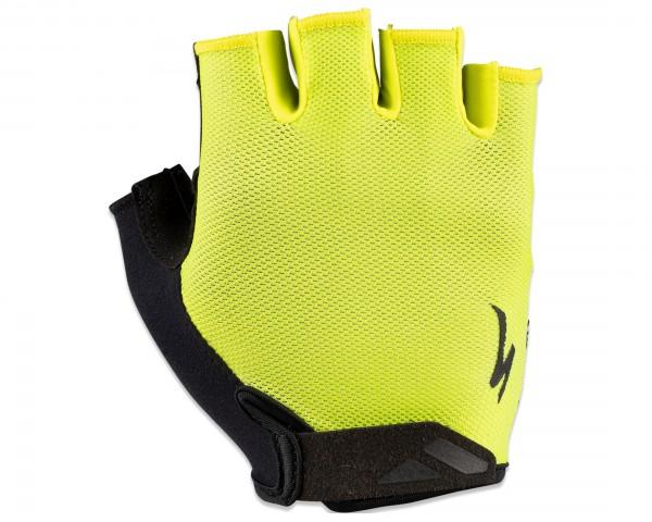 Specialized BG Sport Gel Gloves Short Fingers | hyper green