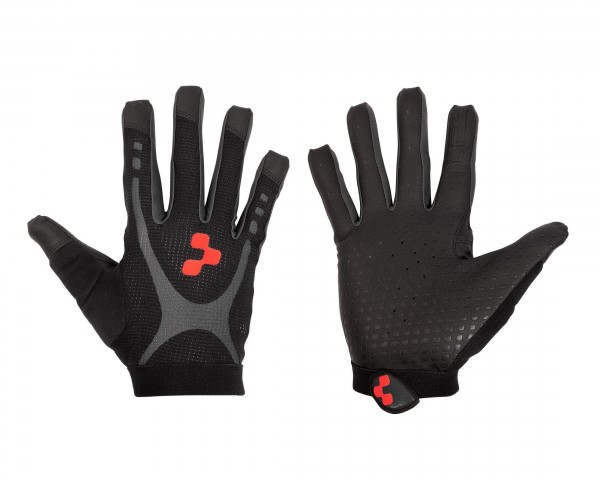 Cube Gloves Race Touch long finger | black n anthracite
