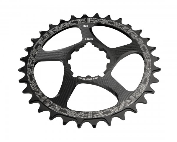 Race Face Single Chainring Direct Mount Narrow Wide for SRAM | black