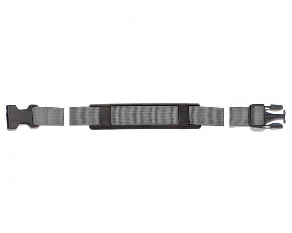 Ortlieb shoulder strap 80 cm with Stealth-Steckverschluss for Back-Roller, Front-Roller, Sport-Roller, Plus-Modell ab Modell 2015 | gray