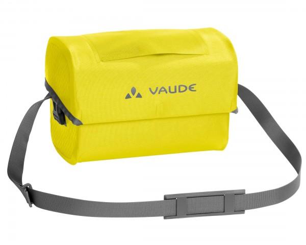 Vaude Aqua Box wasserdichte Fahrradlenkertasche PVC-frei   canary