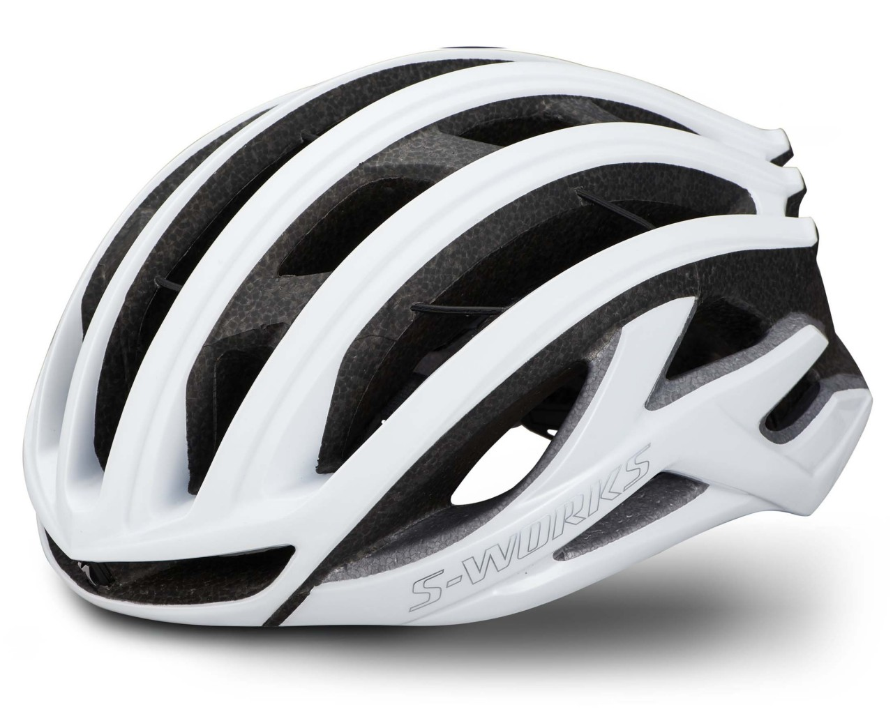 Specialized S-Works Prevail II Vent Helm ANGi ready & MIPS | matte gloss white-chrome