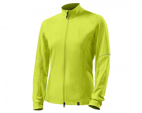 Specialized Womens Deflect Hybrid Jacket | neon yellow