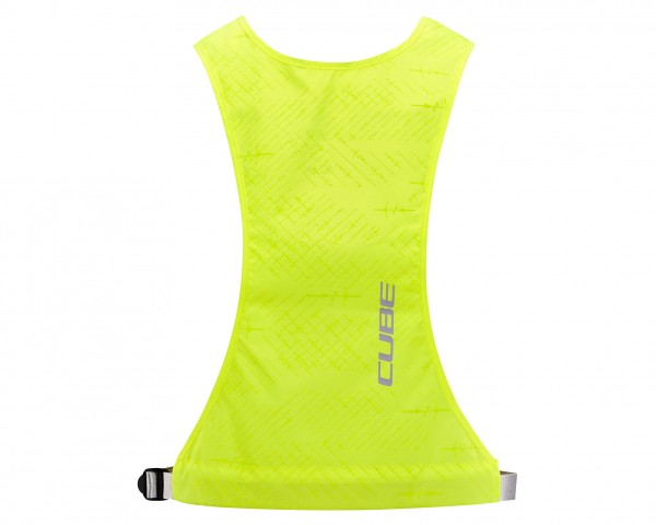 Cube Junior Safety Gilet Standard | yellow