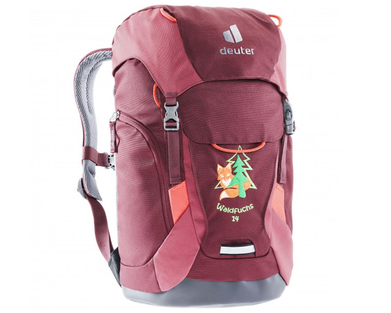 Deuter Waldfuchs 14 litres Kids backpack PFC-free   maron-cardinal