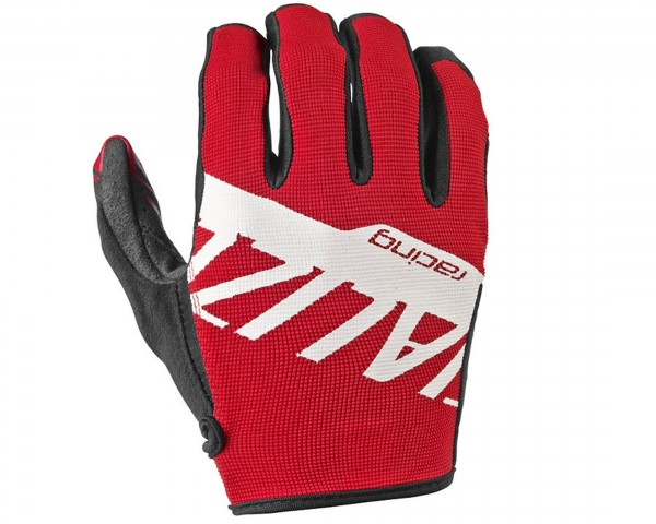 Specialized LoDown long finger Gloves | Red/White Team