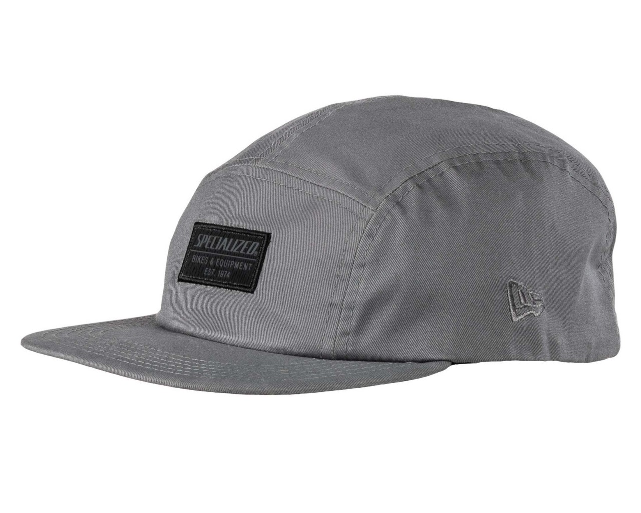 Specialized New Era 5-Panel Hat with Patch | smoke