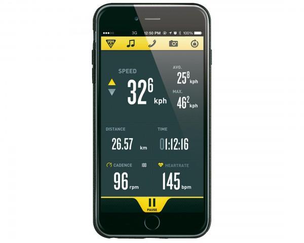 Topeak RideCase für iPhone 6 Plus ohne Halter | schwarz